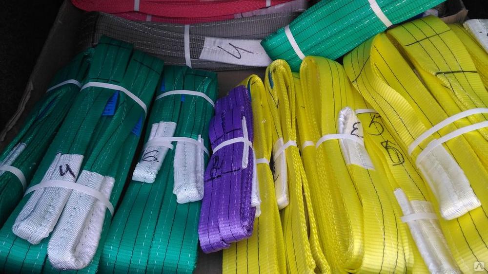 Как выбрать текстильные стропы